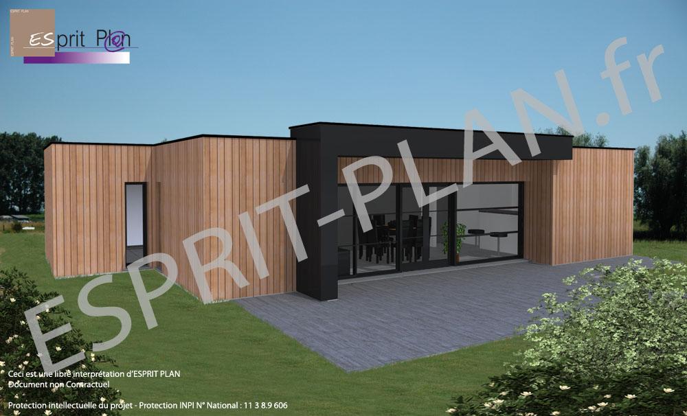 Avant projet maison extensions renovations sur arras for Bardage de pignon de maison