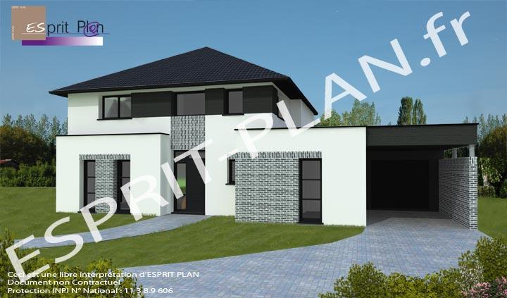 Avant projet maison extensions renovations sur arras for Porte fenetre d interieur