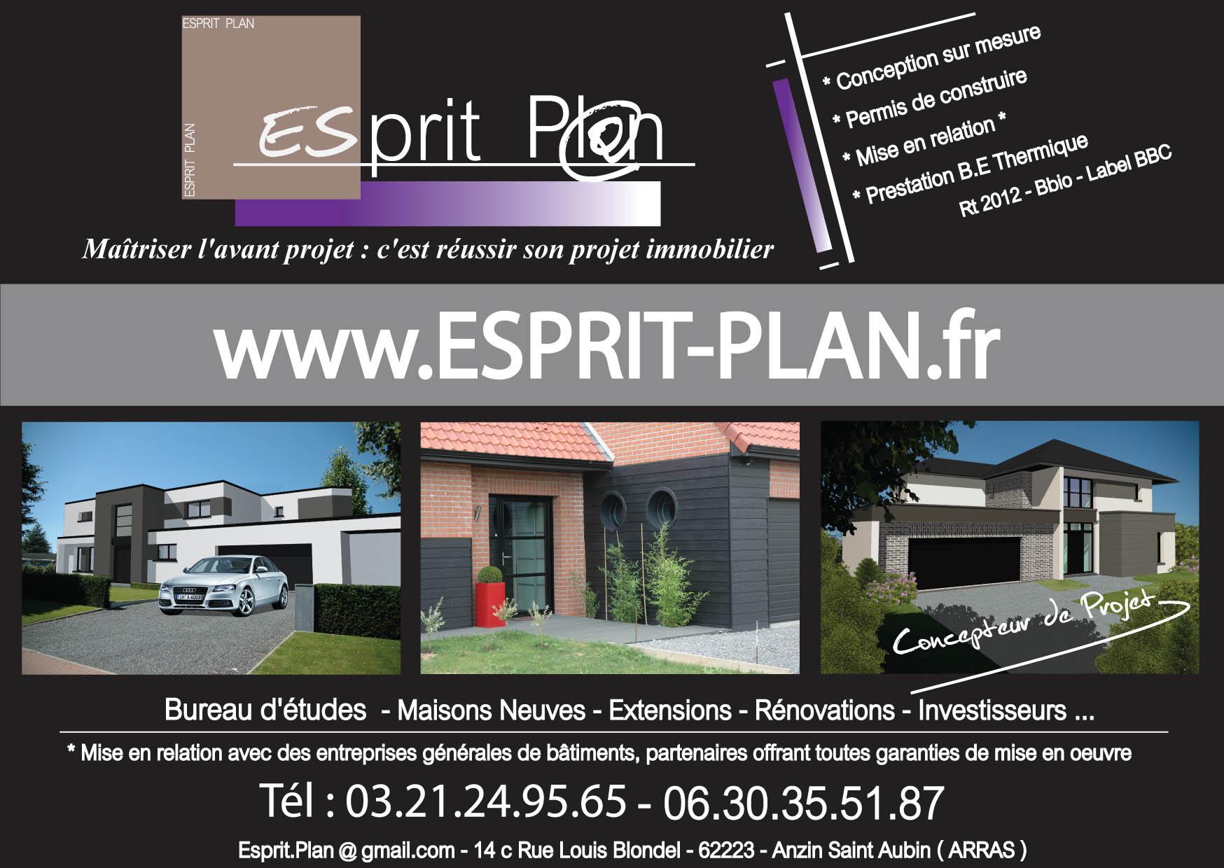 Esprit Plan Permis De Construire Extensions Renovations Sur Arras