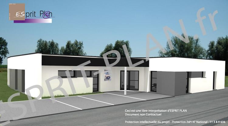 Avant projet maison extensions renovations sur arras lille et nord pas de calais modele - Accessibilite cabinet medical ...