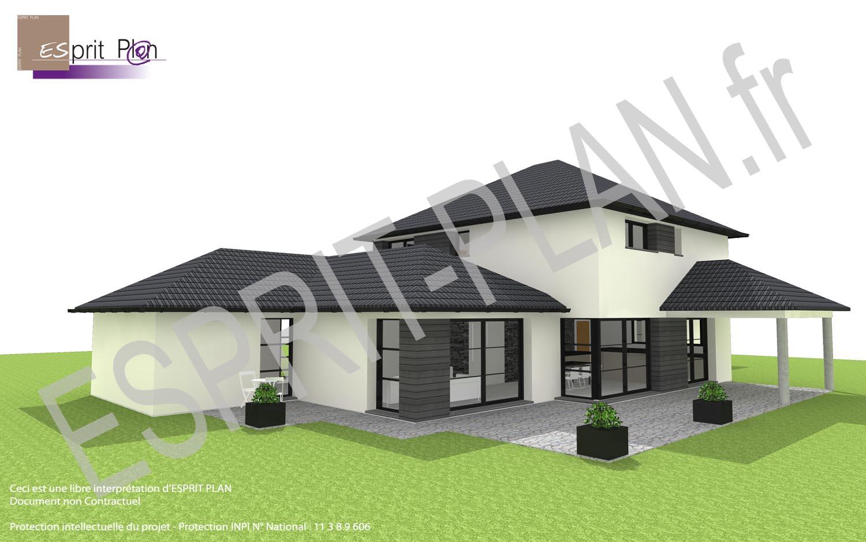Avant projet maison extensions renovations sur arras for Projet maison construction