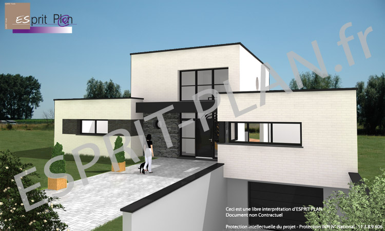 Avant projet maison extensions renovations sur arras for Bureau de maison design