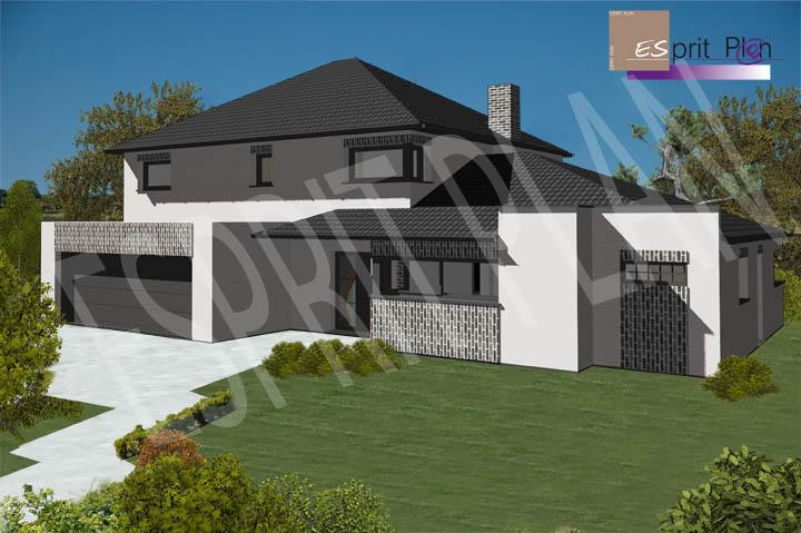Avant projet maison extensions renovations sur arras for Plan maison bioclimatique gratuit